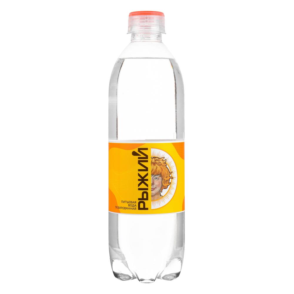 BY Рыжий Вода питьевая газированная 0,5л