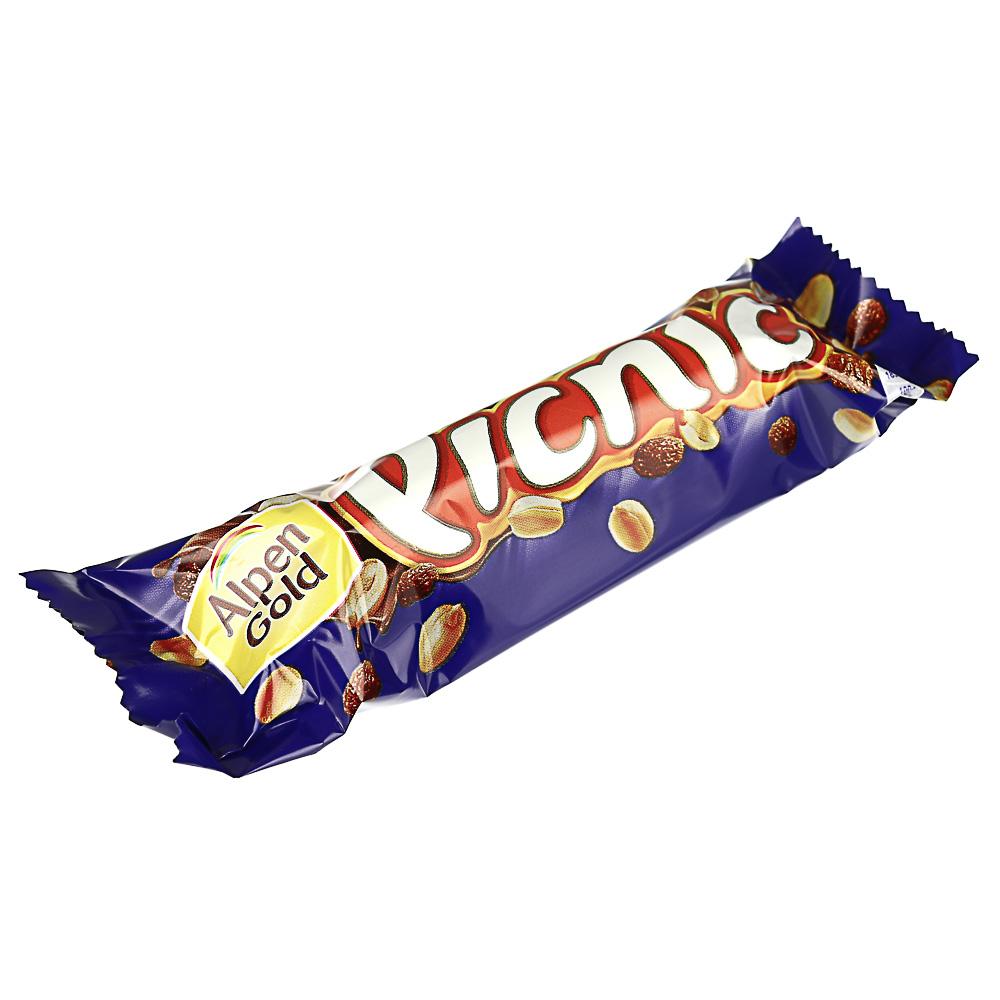 Шоколадный батончик Picnic 38г