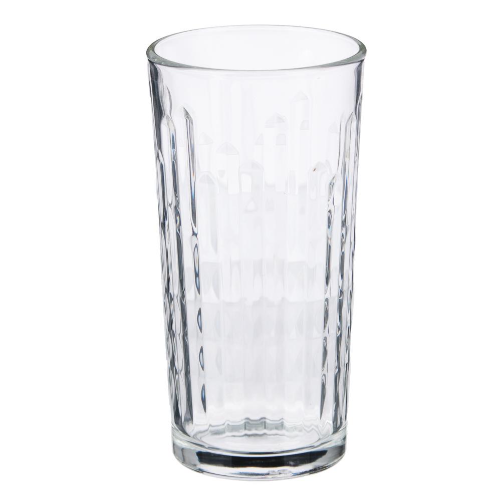 """ОСЗ Стакан высокий """"Асимметрия"""" 230мл, стекло"""