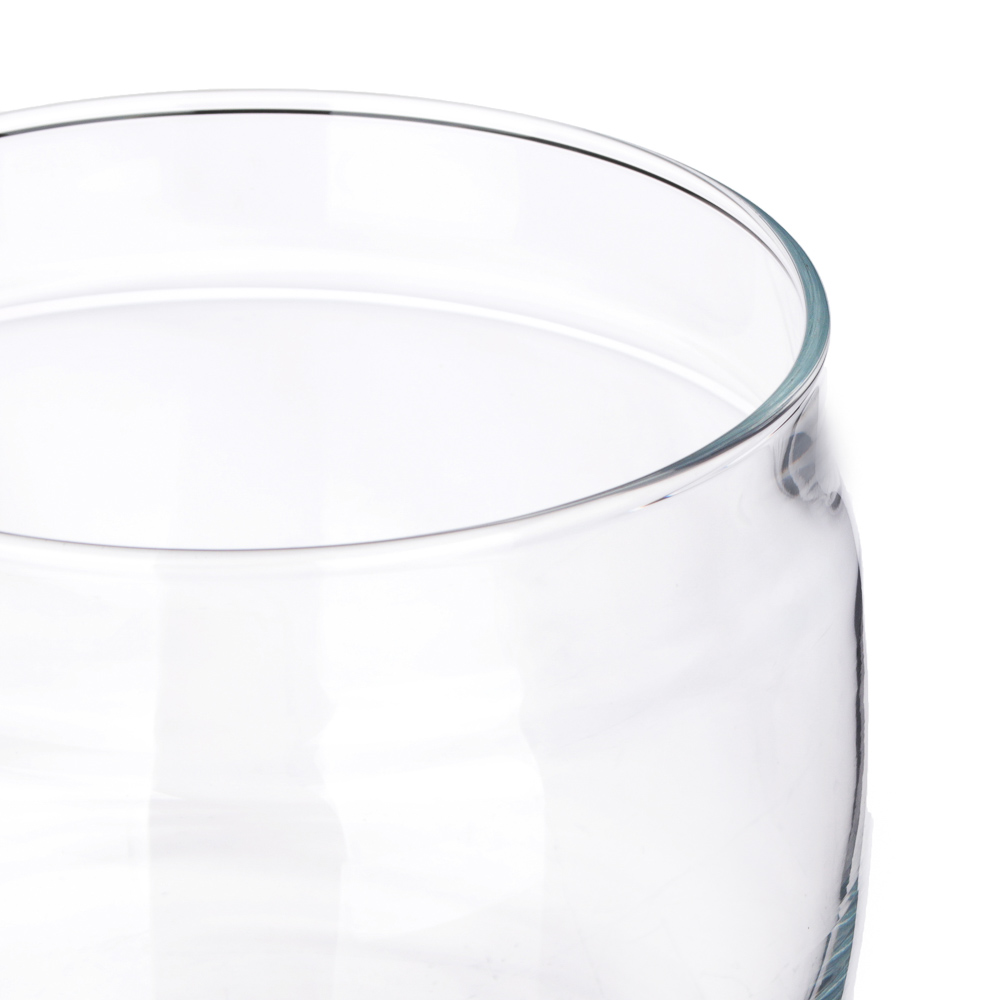 PASABAHCE Банка Cesni, 420мл, h90мм, стекло, пластик, 43002B