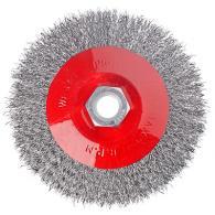 Щетка металл. для УШМ 115мм/М14 (тарелка)