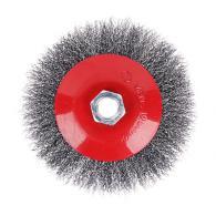 ЕРМАК Щетка металл. для УШМ 125мм/М14 (тарелка)