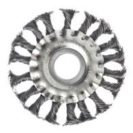 ЕРМАК Щетка металл. для УШМ100мм/22мм, крученая, дисковая