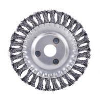 Щетка металл. для УШМ150мм/22мм, крученая, дисковая