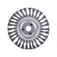 Щетка металл. для УШМ175мм/22мм, крученая, дисковая