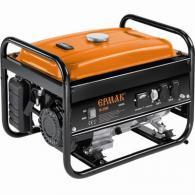 ЕРМАК Генератор бенз. ГБ-2200, 2х230В/50 Гц, макс 2200Вт/ном 2000Вт, 196см3, 5 л...