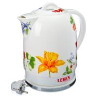 """Чайник керамический 1,7л, 1500Вт, скрытый нагр.элемент, """"Весенний"""""""