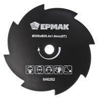 ЕРМАК Нож металлический (255x2x25.4x1,6х8T) для электро и бензотриммеров
