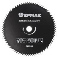 ЕРМАК Нож металлический (255x2x25.4x1,6х80T) для электро и бензотриммеров