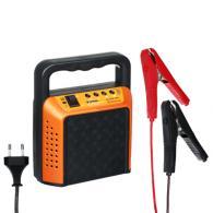 Зарядное устройство трансформаторное, автомат, 6A, 6В/12В, пластиковый корпус,
