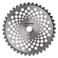 ЕРМАК Нож металл. (255x25.4x1,3х40T) c твердосплав. зубьями для бензотриммеров