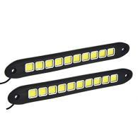 Дневные ходовые огни NEW GALAXY, LED 40шт, гибкий резин. корп., 260мм, 12V, белы...