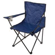Кресло складное, 50x50x80см, синий