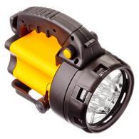 ЕРМАК Фонарь аккумуляторный, 5Вт, 8LED, заряд от прикур 12В + 220В, до 5 часов а...