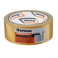 ЕРМАК Клейкая лента двухсторонняя 38мм х 10м, (ткань осн., инд.упаковка)