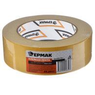 ЕРМАК Клейкая лента двухсторонняя 38мм х 25м, (ткань осн., инд.упаковка)