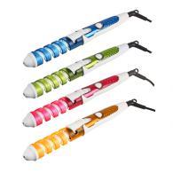 Плойка для завивки волос локоны, 35см, 220В, алюминий, пластик, 4 цвета