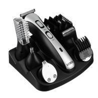 Набор для стрижки 10 в 1, с бритвой, триммером, расческой и машинкой для стрижки, HC752