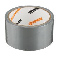 Лента клейкая армированная, 48 ммх10 м, серебряная, инд.упаковка,