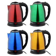Чайник электрический 1,8 л , 1500 Вт, нержавеющая сталь, 4 цвета