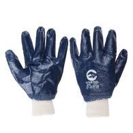 ЕРМАК Перчатки МБС нитриловые, синие, полный облив