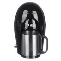 Кофеварка капельная, 400 Вт., на одну чашку, 150 мл, корпус пластик, отделка нер...