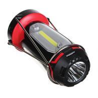 ЧИНГИСХАН Фонарь светильник, 1 LED, 3 COB, 800мАч, USB, 15х8.5х8.5см, 6 режимов,...
