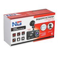 """NG Видеорегистратор Full HD с 2 камерами, 150гр, дисплей 4"""", Micro-SD, 12/2..."""