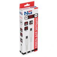 NG Кабель для зарядки, микс Type C-lighnting, Type C-Type C, 1.2м, 2.4A, пластик...