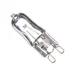 FORZA Лампа галогенная с прозрачным стеклом, цоколь G9, 220В, 60Вт, 2800K, ресурс 2 000ч., D13 мм