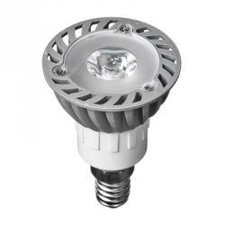 FORZA Лампа светодиодная высокомощная, цоколь Е14, 1LED, 1Вт, 3500K, 220В, ресурс 30 000 ч.