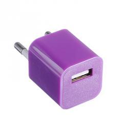 FORZA Зарядное устройство USB, 220В, 1.0A, куб, 6 цветов