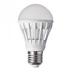 FORZA Лампа светодиодная цоколь E27 LED, 7W, эквив. 70Ватт, 220V, 3000к, 30000h, 11x6см, 14led