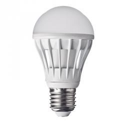 FORZA Лампа светодиодная цоколь E27 LED, 10W, эквив. 100Ватт, 220V, 3000к, 30000h, 11x6см, 20led