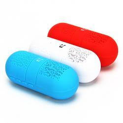 FORZA Аудио колонка беспроводная, MicroSD, 12 см., 500А., DC5V, 3w, 3 цвета
