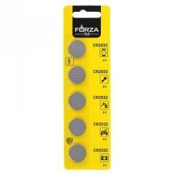 FORZA Батарейки 5шт СR2032 литиевые