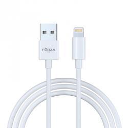FORZA USB Шнур для зарядки с подкл. к комп., 1 м, 2,1 А, 1 цвет , пластик, Эп