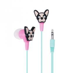 FORZA Наушники вставные, пластик, 96±3dB, 3.5мм, 16Ом, 120 см, 12 дизайнов