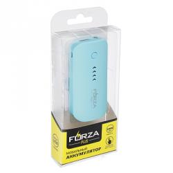 Аккумулятор мобильный, 2400-2800 мАч, 1A, Micro USB, покрытие софт-тач