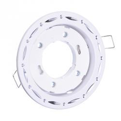 FORZA Светильник встраиваемый № 35 цоколь GX 53, d 110x30мм, белый, алюминий