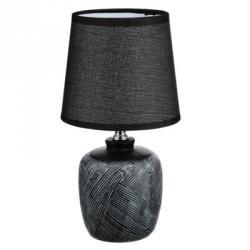 Лампа настольная, E14, 27,5см, 40 Вт, 220В, керамика, текстиль, 3 цвета