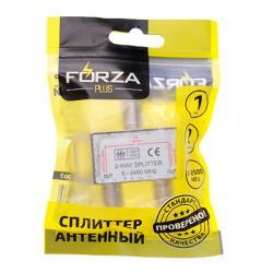 FORZA Сплиттер антенный, 2 выхода, 5-2500 МГц
