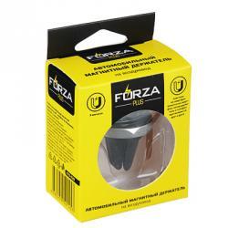 FORZA Автомобильный магнитный держатель моб. телефона на воздуховод, пластик, 3 магнита