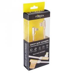 FORZA Шнур для зарядки iP, 2 А, оплетка, 1м