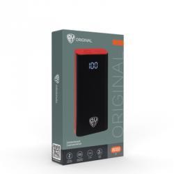 FORZA Аккумулятор мобильный 8000 мАч, темно-серый, 1А