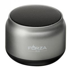 FORZA Колонка беспроводная круглая серебряная, 7x7x4,5см, micro-SD, AUX, USB, 400мач