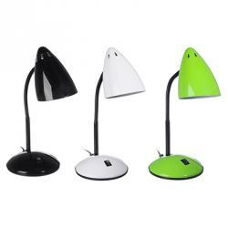 Лампа настольная, E27, 40Вт, 220В, металл, 3 цвета