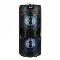 FORZA Колонка беспроводная, 2400мАч, 10Вт, AUX, USB, черный матовый, пластик, металл