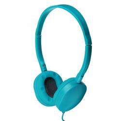 Наушники накладные проводные, кабель 120см, 4 цвета, пластик