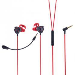 Наушники проводные с микрофоном, металл, Hi Fi Premium, 120 см